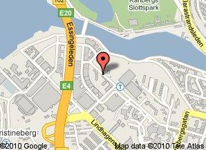 Map to Belman Hostel
