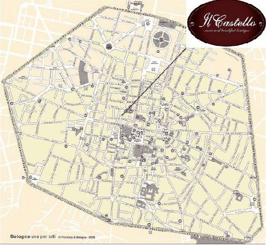 Map to Il Castello